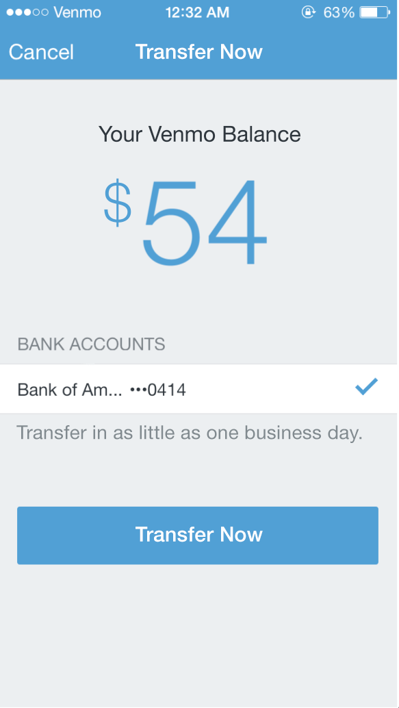 How to transfer money to my venmo card